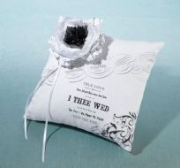 True Love Wedding Ring Cushion
